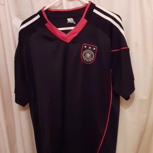 German soccer jersey